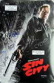 Sin City Cast Signed Poster