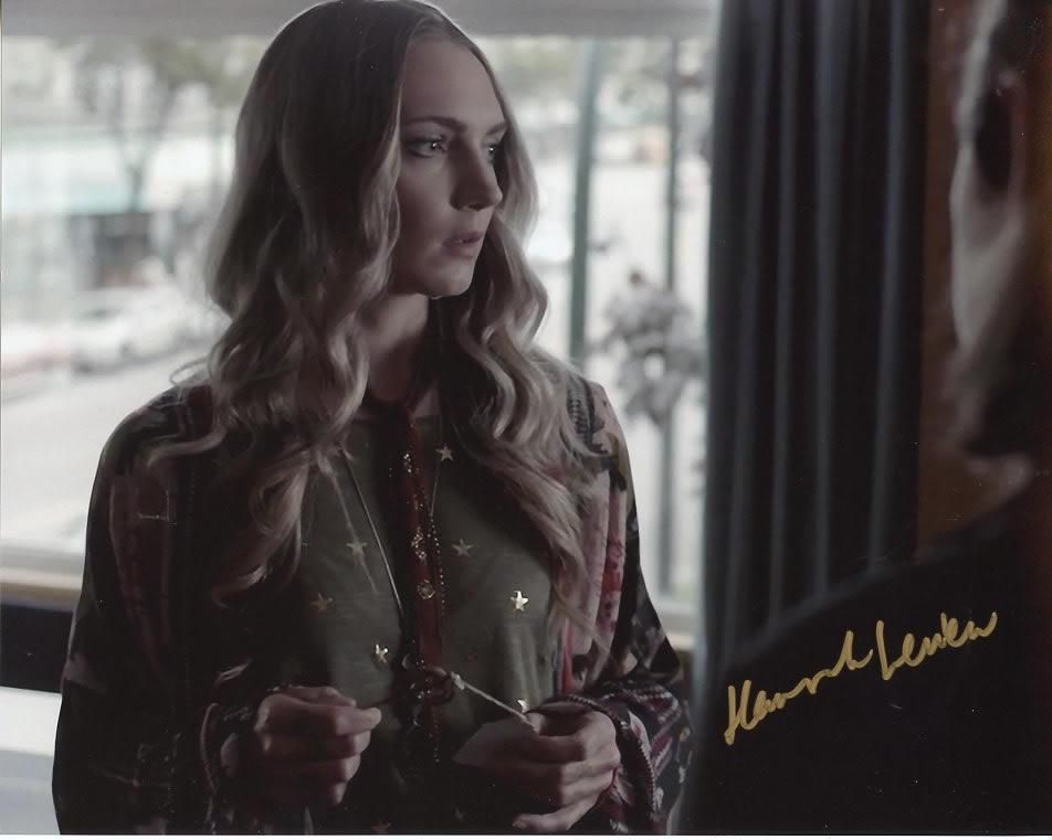 Hannah Levien THE MAGICIANS In Person Signed Photo