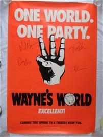 Mike Myers / Dana Carvey + other WAYNES WORLD IP Signed