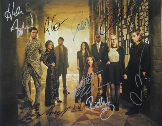 THE MAGICIANS Cast Signed 11 X 14 In Person Signed