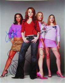 Mean Girls 11x4 Cast In Person Signed Photo
