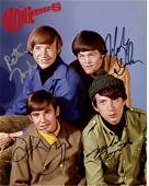 THE MONKEES by 4 In Person Signed Photo