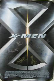 Cast Signed In Person Marvel X-Men Movie Poster