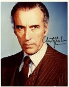 Christopher Lee JAMES BOND In Person Signed Photo