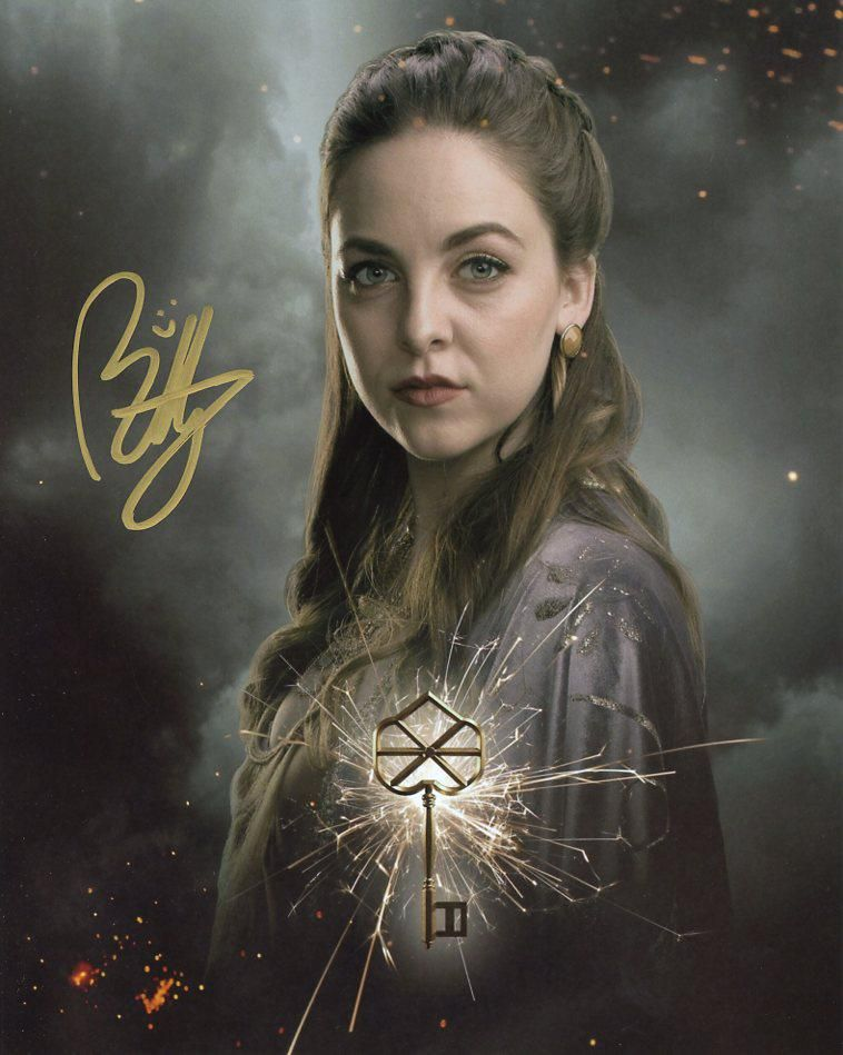 Brittany Curran THE MAGICIANS Signed Photo