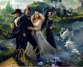 OZ The Great And Powerful Cast Singed by 4