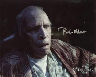 Bob Adrian THE CONJURING Signed Photo