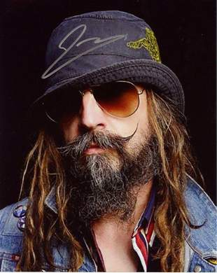 Rob Zombie MUSICIAN In Person Signed Photo