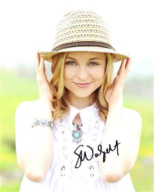 Shelby Wulfert LIV & MADDIE In Person Signed Photo #1