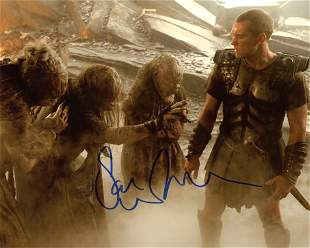 Sam Worthington CLASH OF THE TITANS In Person Signed
