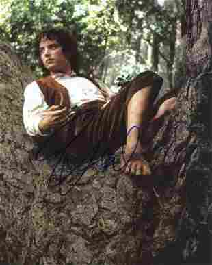 Elijah Wood LORD OF THE RINGS In Person Signed Photo