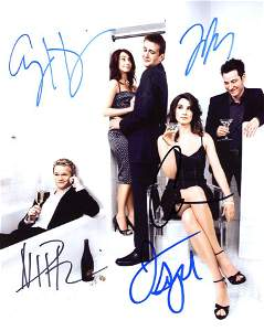 How I Met Your Mother AMAZING Cast Signed Photo