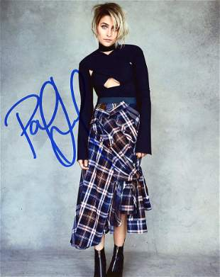 Paris Jackson MODEL In Person Signed Photo