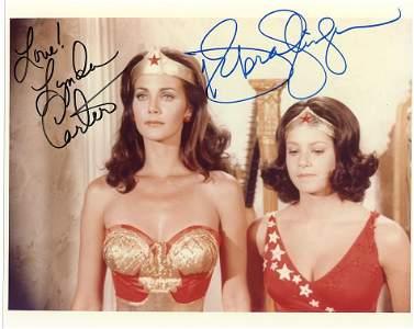 Lynda Carter / Debra Winger WONDER WOMAN In Person
