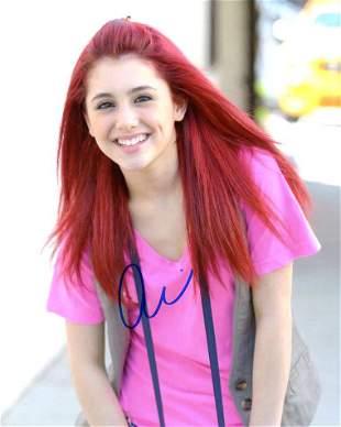 Ariana Grande PRETTY Signed Photo