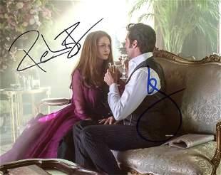 Hugh Jackman / Rebecca Ferguson GREATEST SHOWMAN Signed