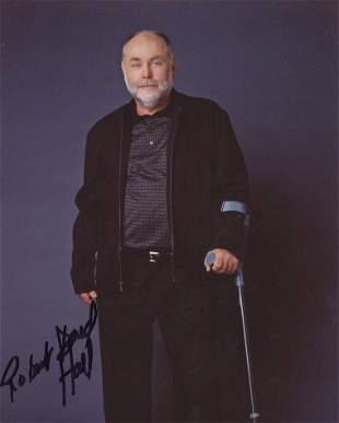 Robert David Hall CSI Signed Photo