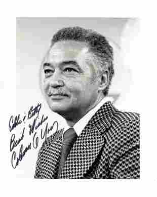 Coleman Young POLITICIAN Signed Photo