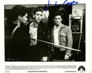 Nicolas Cage RACING WITH THE MOON Signed Photo