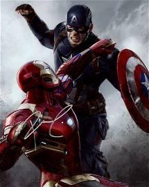 Robert Downey Jr / Chris Evans AVENGERS In Person