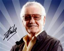 Stan Lee (1922-2018) MARVEL GENIUS In Person Signed