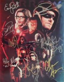 ARROW 11 X 14 In Person Signed Photo