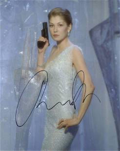 Rosamund Pike DIE ANOTHER DAY In Person Signed Photo