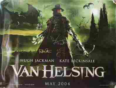 VAN HELSING Cast Signed Movie Poster by 8