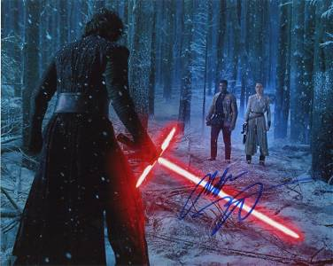 Adam Driver SW THE FORCE AWAKENS In Person Signed Photo