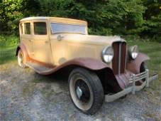 1931 Auburn Sedan VIN 898A-22836A Engine No. 53813