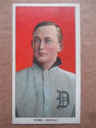 Ty Cobb T206 Sweet Caporal Baseball Tobacco Card