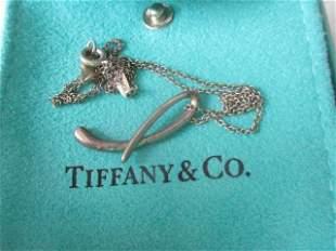 Tiffany & Co. Elsa Peretti Sterling Pendant
