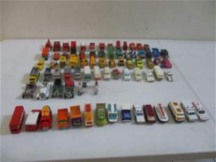 Lesney, Superfast, and Other Matchbox Cars