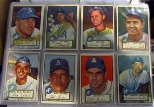 1952 Topps Baseball Starter Set of 208 Different