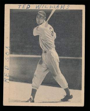 1939 Playball #92 Ted Williams Rookie Gd