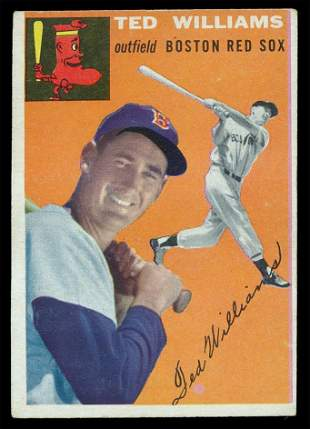 1954 Topps Baseball #1 Ted Williams Gd