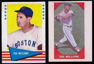 1960 & 1961 Fleer Ted Williams Cards