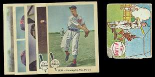 (17) Ted Williams Cards 1940's-1970's
