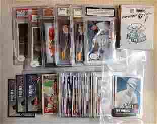 Ted Williams Modern Card Box Lot