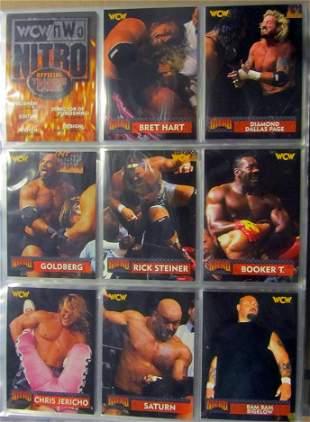 Binder full of modern Wrestling sets and Inserts