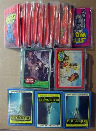 Star Wars Related Set/Pack Lot