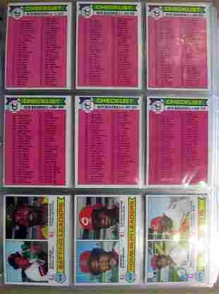 1979 Topps Baseball Complete Set