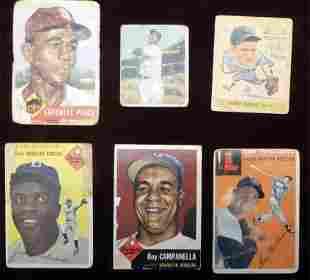 (6) Very High Value Baseball Super Star Cards