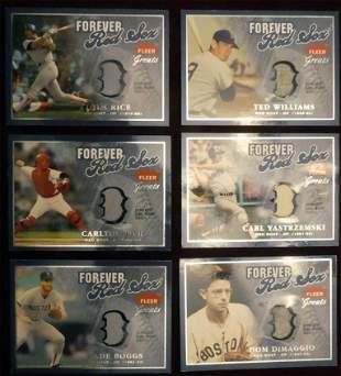 2004 Fleer Greats Red Sox Team Set of 6 #ed/149