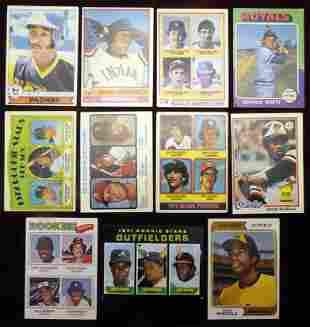 (11) 1970's Topps Baseball Key Rookie Cards