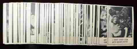 1966 Topps Monster Laffs Complete Set of 66 Cards