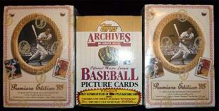 Lot of (3) Unopened Baseball card boxes