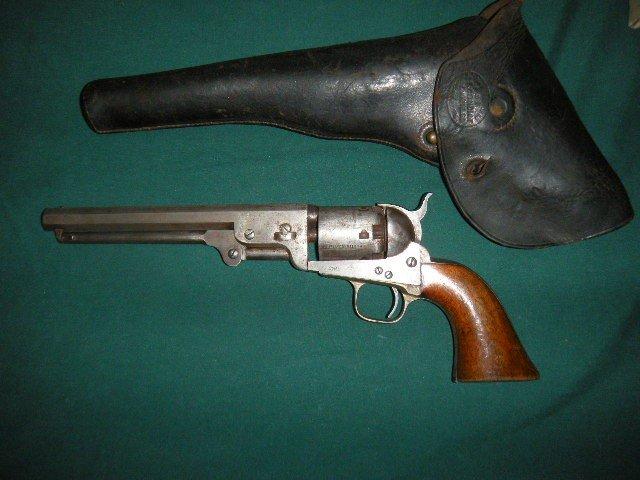 5: Colt Pistol Serial # 101398 w/ Leather Case