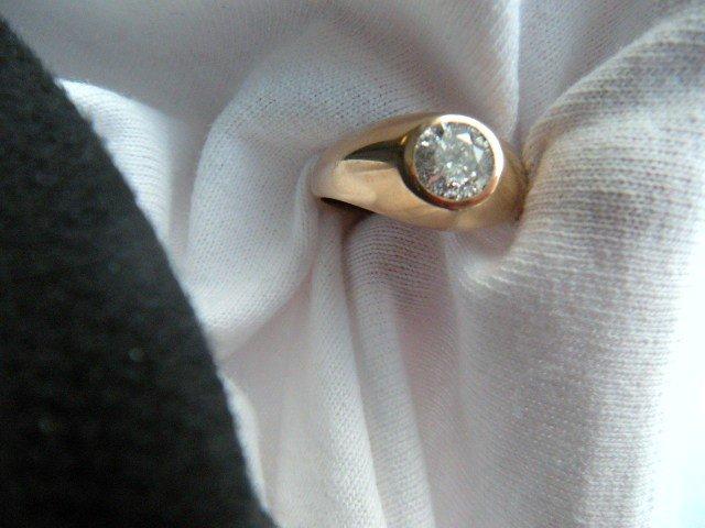 7: Approx 1.2 Carat Old Miner's Cut Diamond in 10K Sett