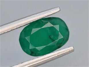 Top Color 1.20 ct Zambian Emerald